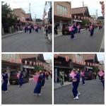 ウレイナ通りをパレード
